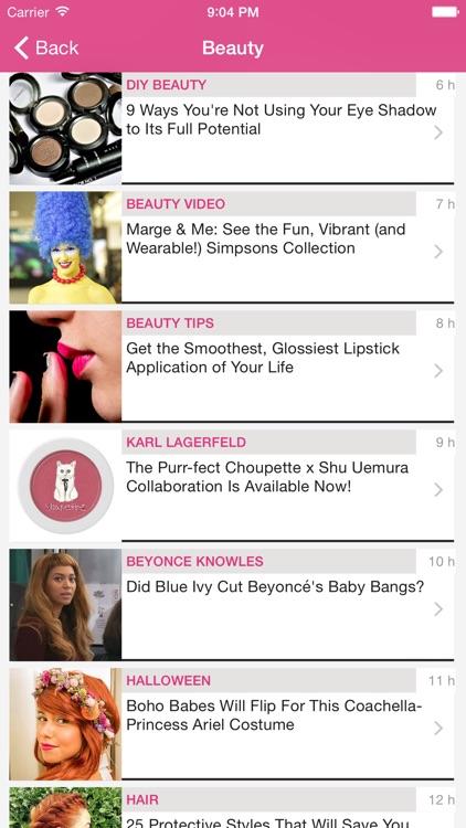 Lady Biz - Period Tracker and Fertility Calendar screenshot-4