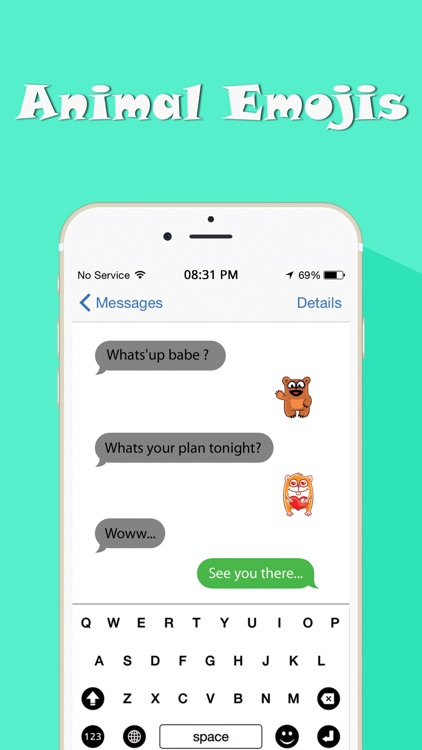 Animal Emojis screenshot-4