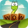 Word Wow Big City - Search for the best words as you help Worm to the bottom!