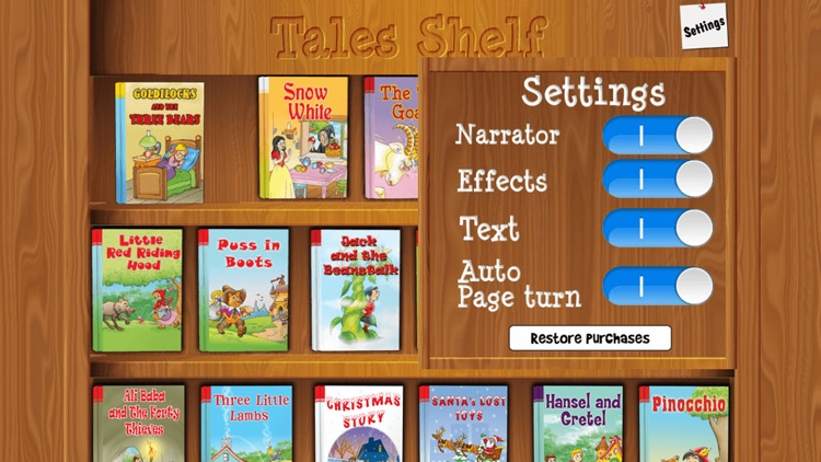 Tales Shelf - Read and Listen to Fairy Tales!