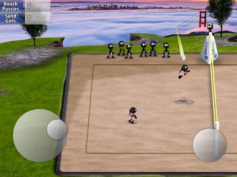 Stickman Volleyballのおすすめ画像2