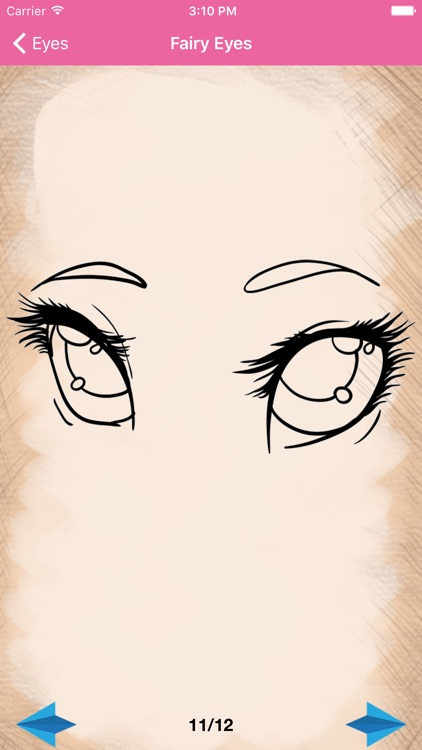 Artist Pink - How to draw Eyes screenshot-3