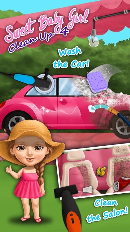 Sweet Baby Girl Cleanup 4 - No Ads screenshot-4