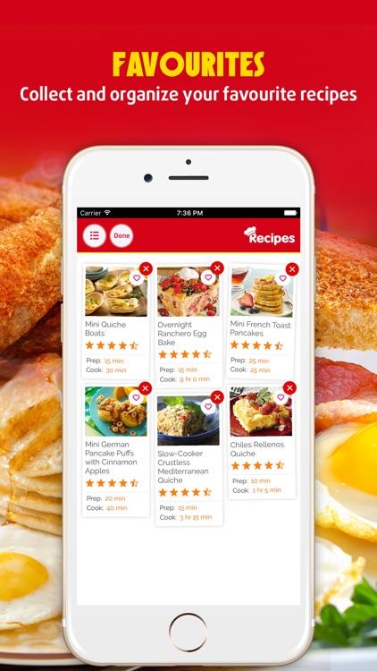 Easy Breakfast ~ The Best Breakfast & Brunch Recipes screenshot-3