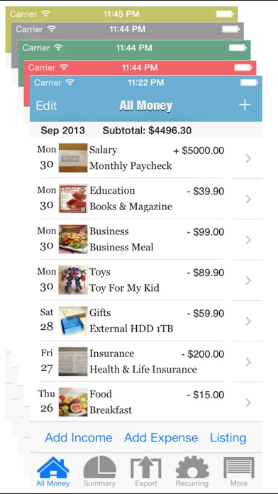 Download Daily Expenses for Pc
