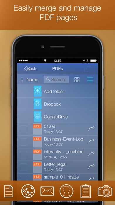PDF Printer iPhone