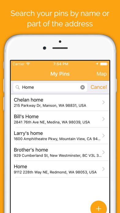 pinz : remember places Screenshots