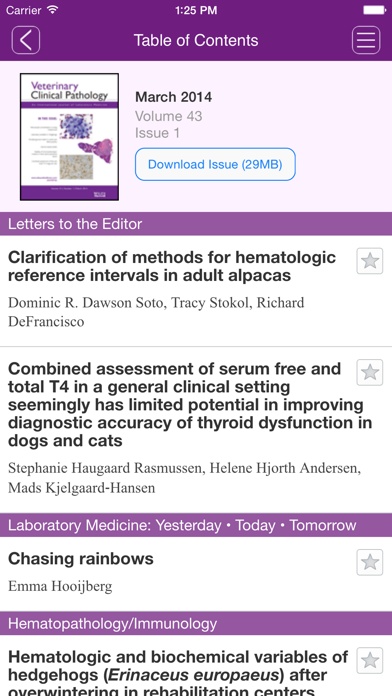messages.download Veterinary Clinical Pathology software
