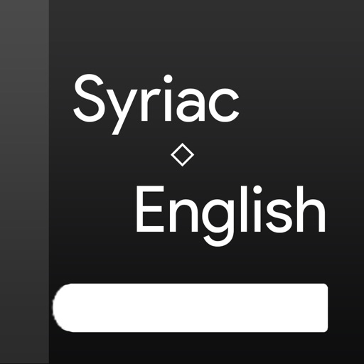 Syriac-English dictionary
