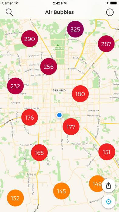 Air Bubbles: Live Air Qualityのおすすめ画像2