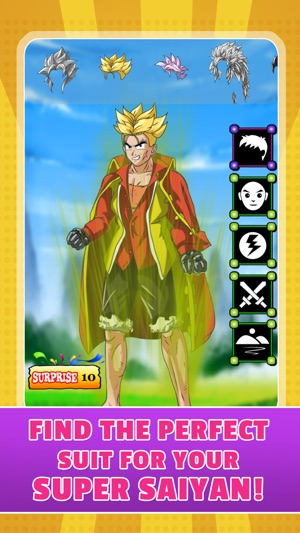 create your own super saiyan dbz battle of gods dragon ball z