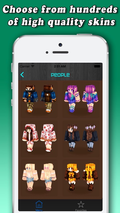 Skins for Minecraft PE (Pocket Edition) - Free Pro Skins for MCPE