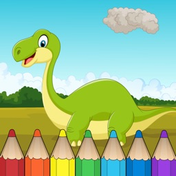 Dinosaur Coloring Book - Free Fun Educational Dinosaur Drawing Pages for Preschool