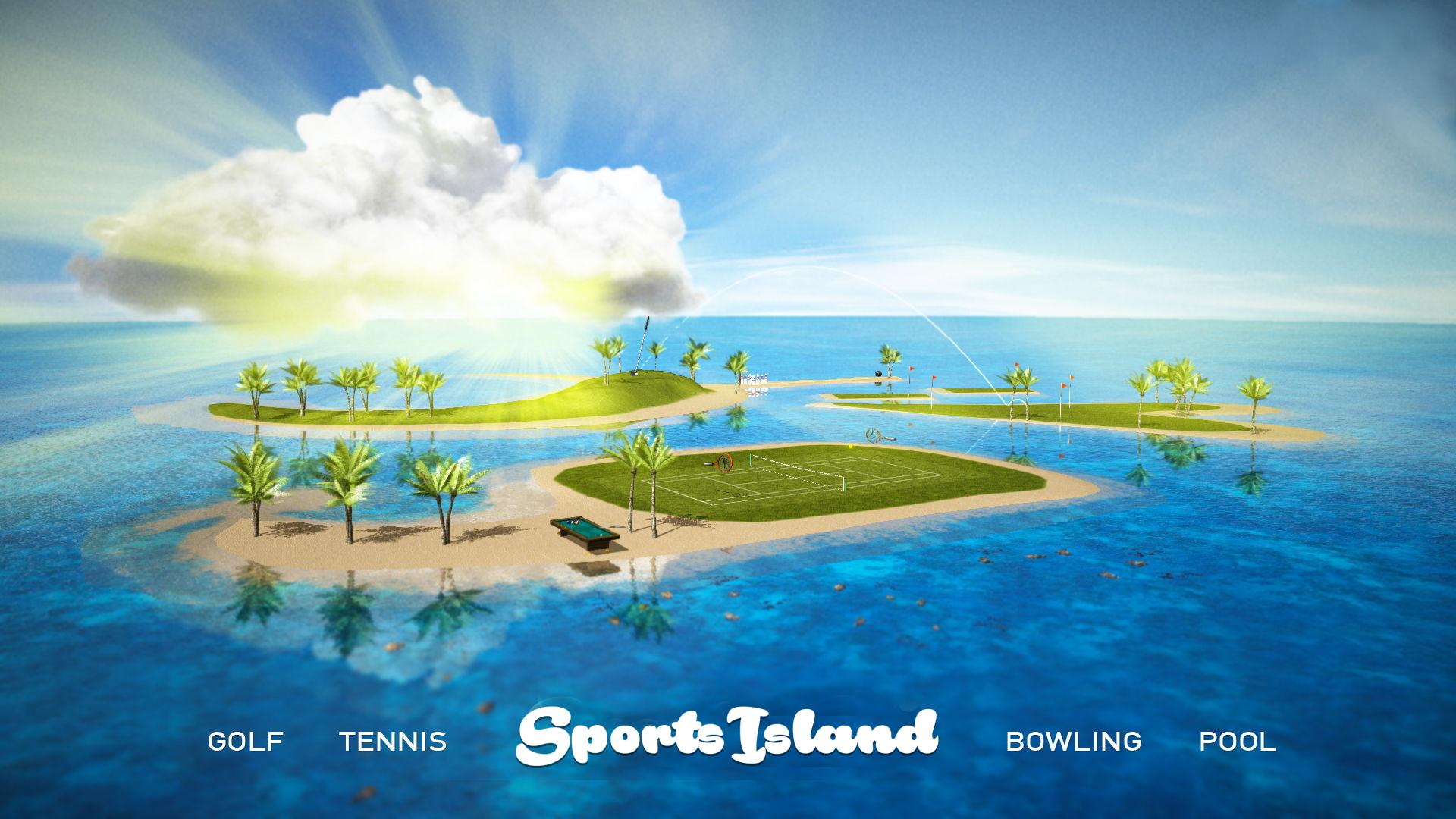Sports Island — Golf Bowling Tennis Pool screenshot 1