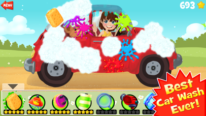 Amazing Car and Truck Wash - The free funny cars cleaning game for little kids and toddlers lite-4