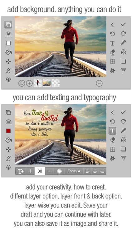 FotoShop Editor - Combine Your Photos Using  Instant Blending and Filtering Tools