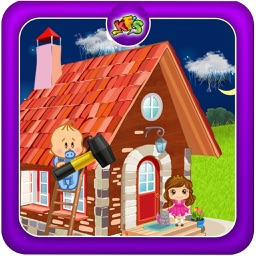 Build Baby Dream House – Make, design & decorate home in this kid's game