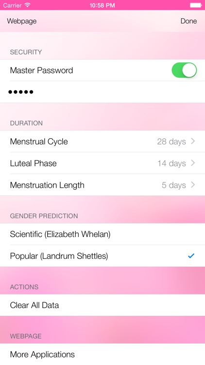 Ovulation Calculator & Fertility Tracker - Menstrual Calendar to Get Pregnant during Period screenshot-4