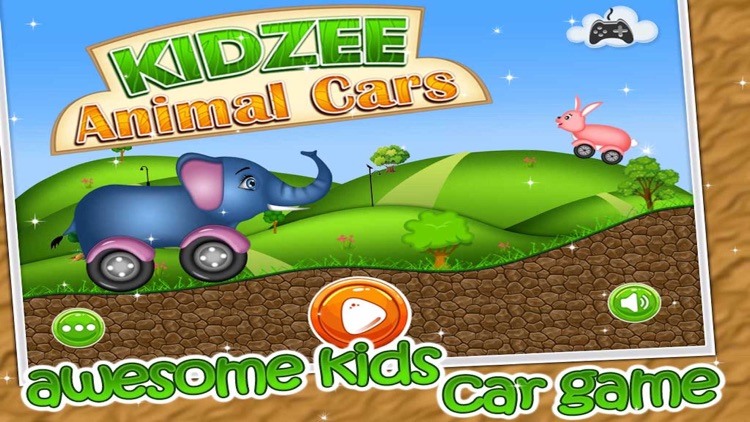 Kidzee - Animal Cars Racing Game for Kids screenshot-0