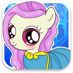 Dress Up Princess Pony Girl