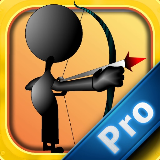 Stickman Arrow Strike PRO - Secret Apple Shooter Skills icon