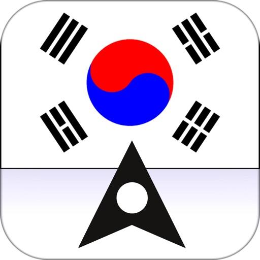 South Korea Offline Maps & Offline Navigation