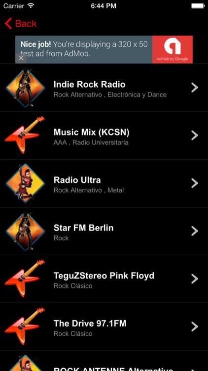 Musica Rock Radio FM
