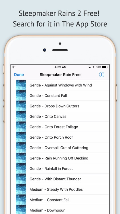 Sleepmaker Rain Free screenshot-3