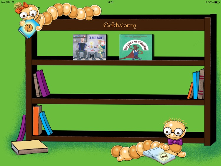 Goldworm; The interactive book reader