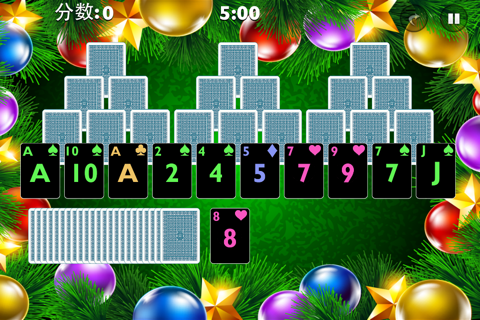 Tri Xmas Tree Solitaire screenshot 4