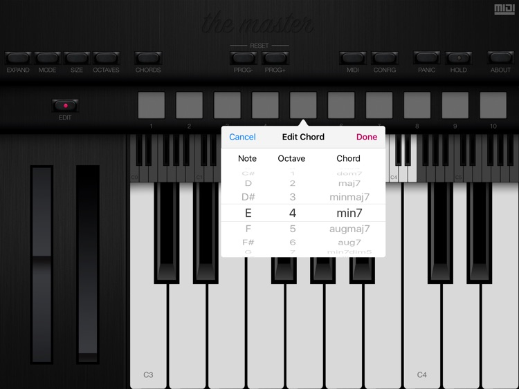 The Master MIDI Keyboard screenshot-4