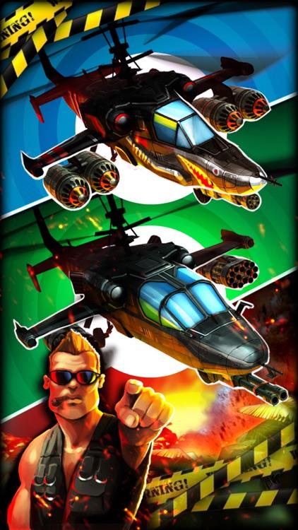 地狱直升机 - 3D模拟飞行射击,现代军事海陆空军激战 screenshot-4