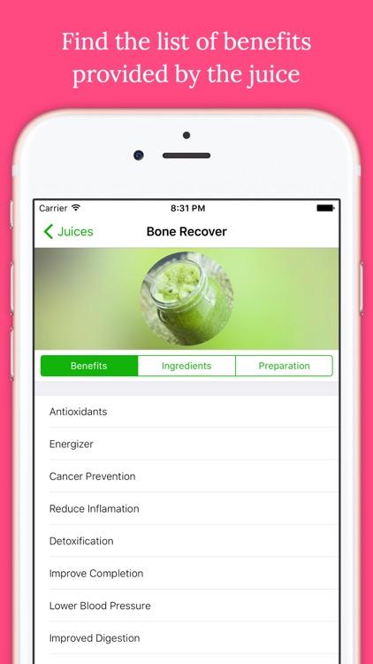 Detox Healthy Juice Recipes