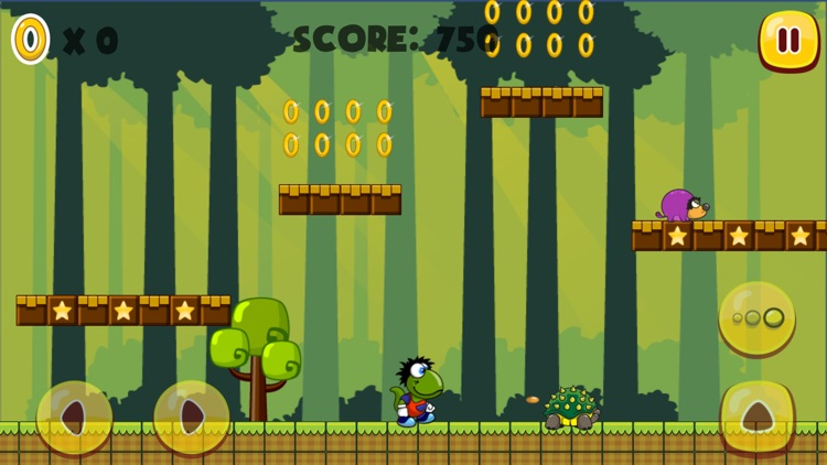 Amazing Dino World - Classic Platform Game for kids and adults screenshot-3