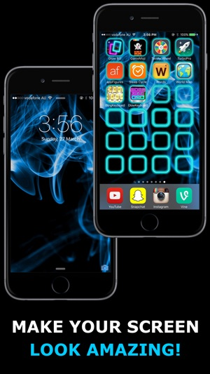 Glow Backgrounds On The App Store