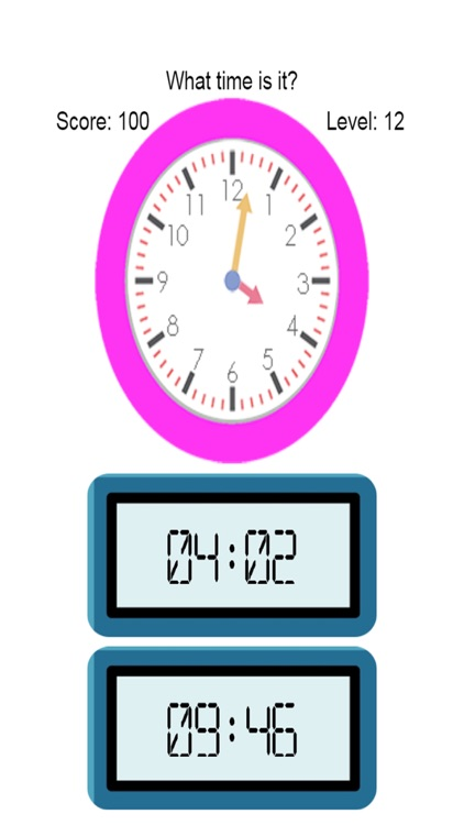 Telling Time for Kindergarten - Learning to Tell Timeclock screenshot-4