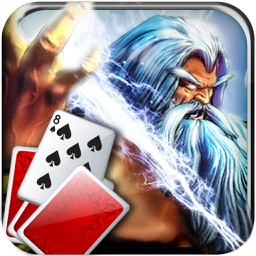 Zeus Era Solitaire: Free Casino Big Win with Wild Luck in Las Vegas