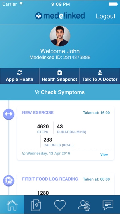 Medelinked - Personal Health Record
