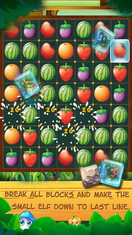 Fruit Line Happy: Match Crush Fun