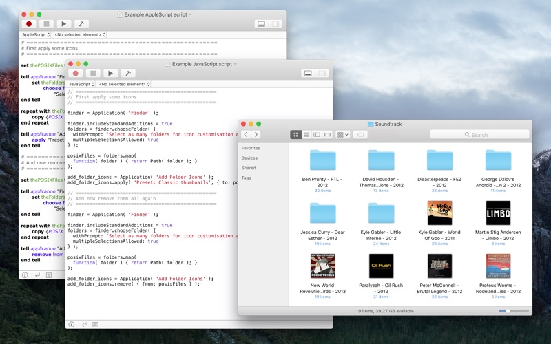 Add Folder Icons Screenshot