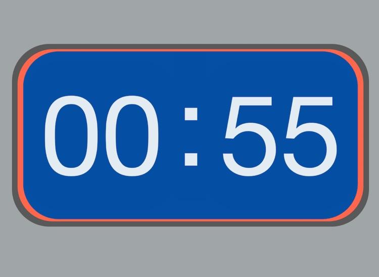 Minimalist Clock -- GTD