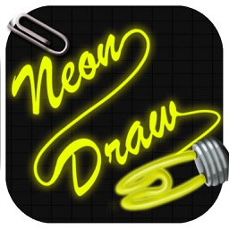 Neon Draw - Make drawings and create notes with neon tubes' colors.