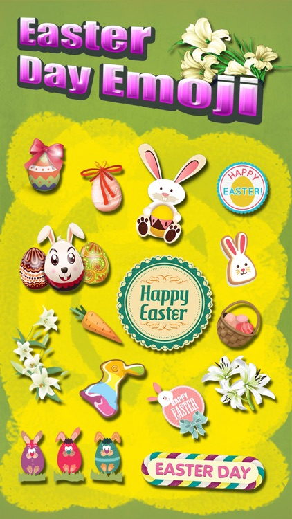 Happy Easter Emoji.s Pro - Holiday Emoticon Sticker for Message & Greeting