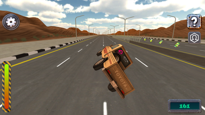Screenshot from ملك الترفيع Side Wheel Hero