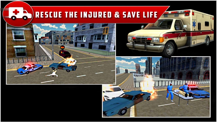 City Ambulance Rescue Drive 3D screenshot-3