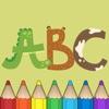 字母 图画书 : 字母为儿童游戏。 免费的幼儿园,学前班和学校!(ABC Alphabet Coloring book)