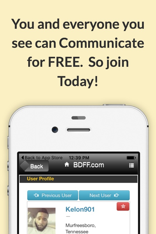 Black Dating apps pour iPhone