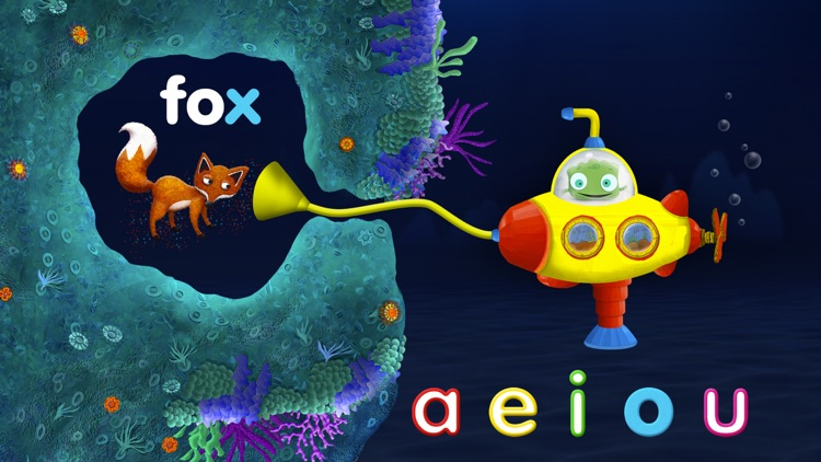 Tiggly Submarine: Preschool ABC Game screenshot-4