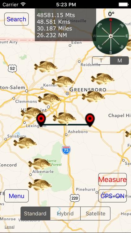 North Carolina: Fishing Lakes screenshot-3