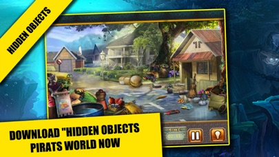 Pirates World Hidden objects adventure game : Search and Find objects screenshot four